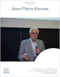 Gazette Jean-Pierre Kahane