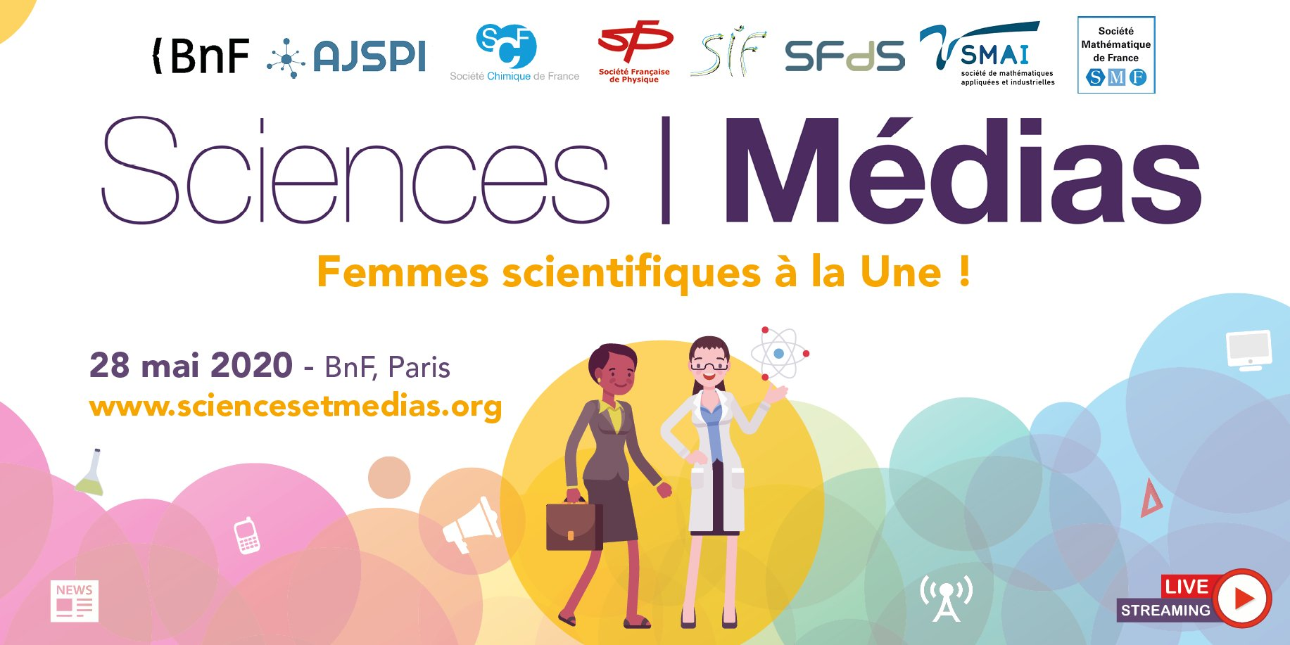 Attention ! Journée Sciences et Médias en streaming !