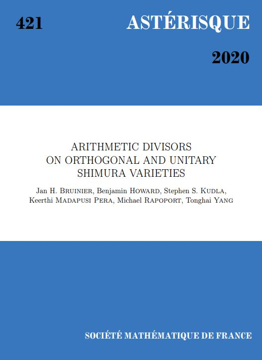 Arithmetic divisors on orthogonal and unitary Shimura varieties