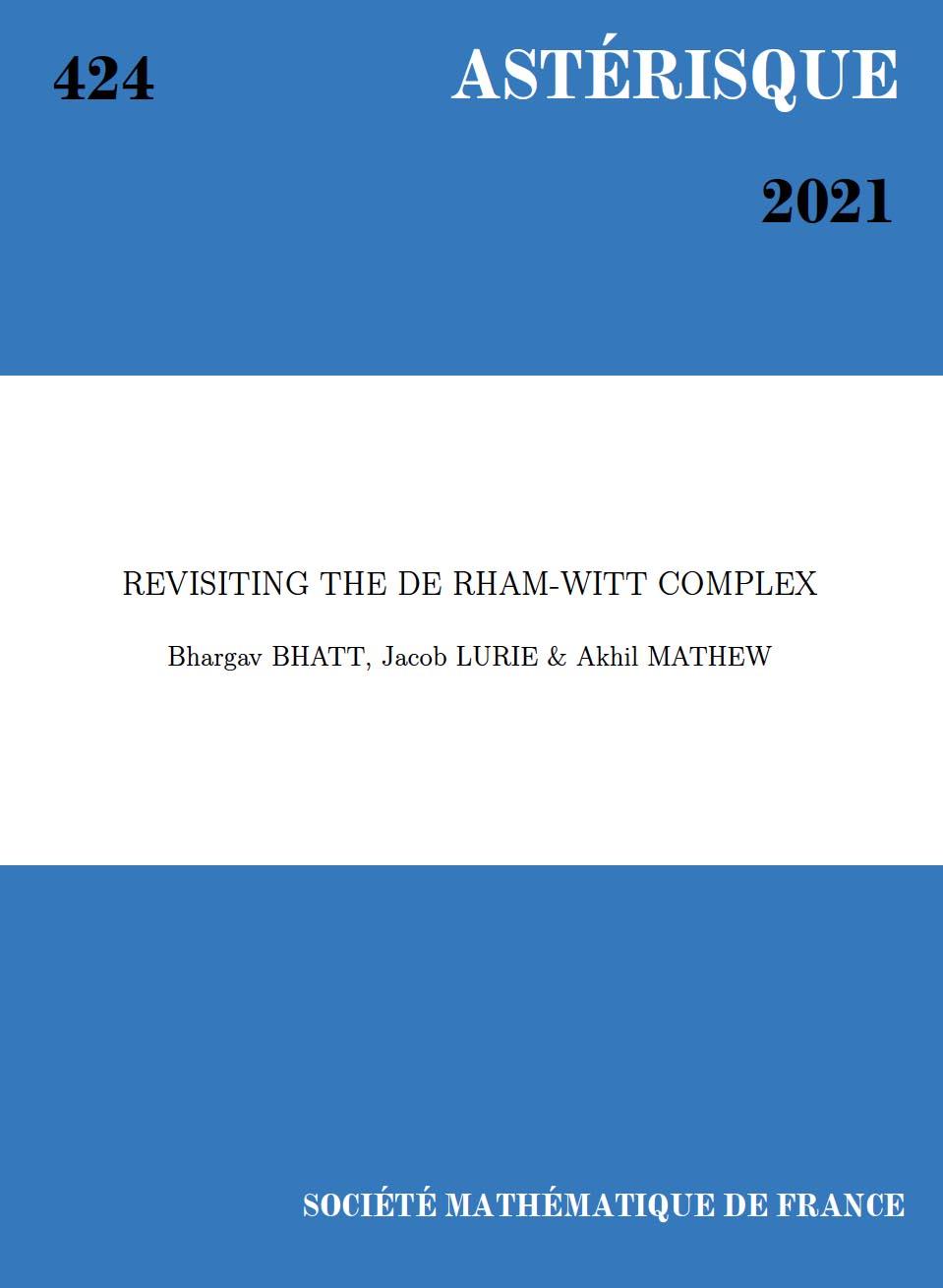 Revisiting the de Rham-Witt complex
