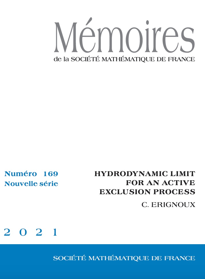 Hydrodynamic Limit for an Active Exclusion Process