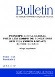 Principe local-global pour les corps de fonctions sur des corps locaux supérieursII