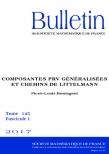 Composantes PRV généralisées et chemins de Littelmann