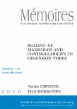 Rolling of Manifolds and Controllability in dimension three