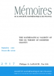 The Mathematical Validity of the $\mathbf {f(R)}$ Theory of Modified Gravity