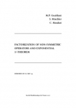 Factorization of Non-Symmetric Operators and Exponential $H$-Theorem