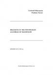 Brackets in the Pontryagin Algebras of Manifolds