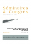 Control and stabilization of partial differential equations