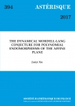 The Dynamical Mordell-Lang Conjecture for polynomial endomorphisms of the affine plane