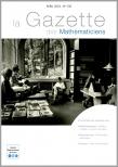 La Gazette des mathématiciens 156 (avril 2018)