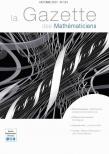 La Gazette des mathématiciens 154 (octobre 2017)