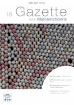 La Gazette des mathématiciens 152 (avril 2017)