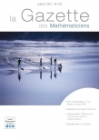 La Gazette des mathématiciens 153 (juillet 2017)