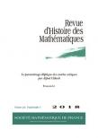 Le paramétrage elliptique des courbes cubiques par Alfred Clebsch