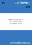 Séminaire Bourbaki, volume 2016/2017, exposés 1120-1135