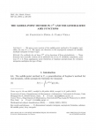 The saddle-point method in $\mathbb{C}^{N}$ and the generalized Airy functions