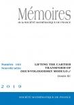 Lifting the Cartier transform of Ogus-Vologodsky modulo $p^{n}$