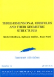 Three-dimensional orbifolds and their geometric structures