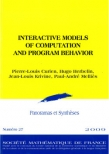 Interactive models of computation and program behaviour