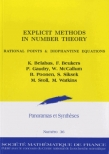 Explicit Methods in Number Theory Rational Points and Diophantine Equations