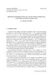 Exposé Bourbaki 1142 : Méthodes entropiques pour les convolutions de Bernoulli (d'après Hochman, Shmerkin, Breuillard, Varju)
