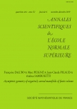 Asymptotic geometry  of negatively curved manifolds of finite volume