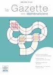 La Gazette des mathématiciens 164 (avril 2020)