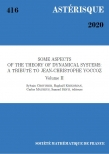 Some aspects of the theory of dynamical systems: a tribute to Jean-Christophe Yoccoz (volume II)