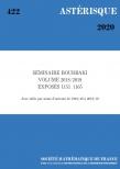 Séminaire Bourbaki, volume 2018/2019, exposés 1151-1165