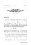 Exposé Bourbaki 1160 : HOMFLY polynomials rom the Hilbert schemes of a planar curve (after D. Maulik, A. Oblomkov, V. Shende, ...)