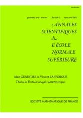 Théorie de Fontaine en égales caractéristiques