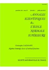 Classes d'homotopie algébrique de fractions rationnelles