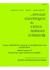 Géométrie ambitorique II: surfaces toriques complexes extrémales et orbifolds d'Einstein de dimension 4