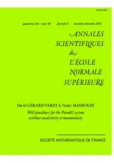 Caractère bien posé de l'équation de Prandtl sans monotonie ou analycité