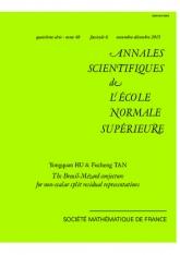 La conjecture de Breuil-Mézard pour les représentations résiduelles scindées non scalaires