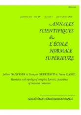 Géométrie et topologie des espaces-temps lorentziens complets à courbure constante