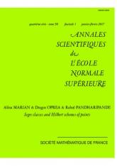 Classes de Segre et schémas de Hilbert ponctuels