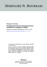 Exposé Bourbaki 716 : Développements récents sur les groupes de tresses