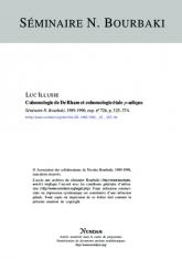 Exposé Bourbaki 726 : Cohomologie de de Rham et cohomologie étale $p$–adique [d'après G.Faltings, J.-M.Fontaine et al.]