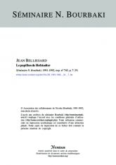Exposé Bourbaki 745 : Le papillon de Holstadter [selon B. Helffer et J. Sjöstrand]