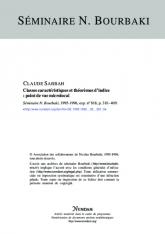 Exposé Bourbaki 818 : Classes caractéristiques et théorèmes d'indice: point de vue microlocal
