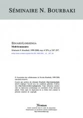 Exposé Bourbaki 874 : Mesures motiviques