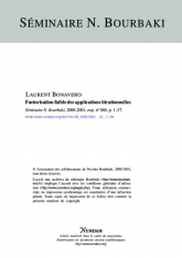 Factorisation faible des applications birationnelles