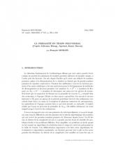 Exposé Bourbaki 917 : La primalité en temps polynomial