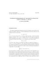 Exposé Bourbaki 918 : Systèmes hyperboliques et viscosité évanescente