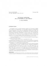 Exposé Bourbaki 913 : Nouvelles approches delapropriété(T) de Kazhdan