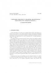 Exposé Bourbaki 946 : Catégories dérivées et géométrie birationnelle