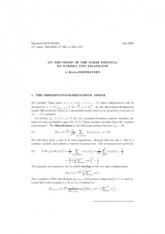 Exposé Bourbaki 948 : La formule de Parisi pour le modèle SK, et sa démonstration récente par Guerra et Talagrand