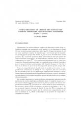 Exposé Bourbaki 952 : Compactification de l'espace des modules des variétés abéliennes principalement polarisées