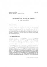 Exposé Bourbaki 957 : Le théorème fort des graphes parfaits